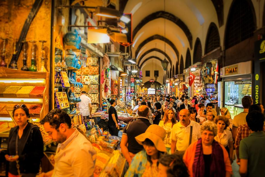 Grand Covered Bazaar in Byzantine and Ottoman Traces Tour by Travel Tips Turkey