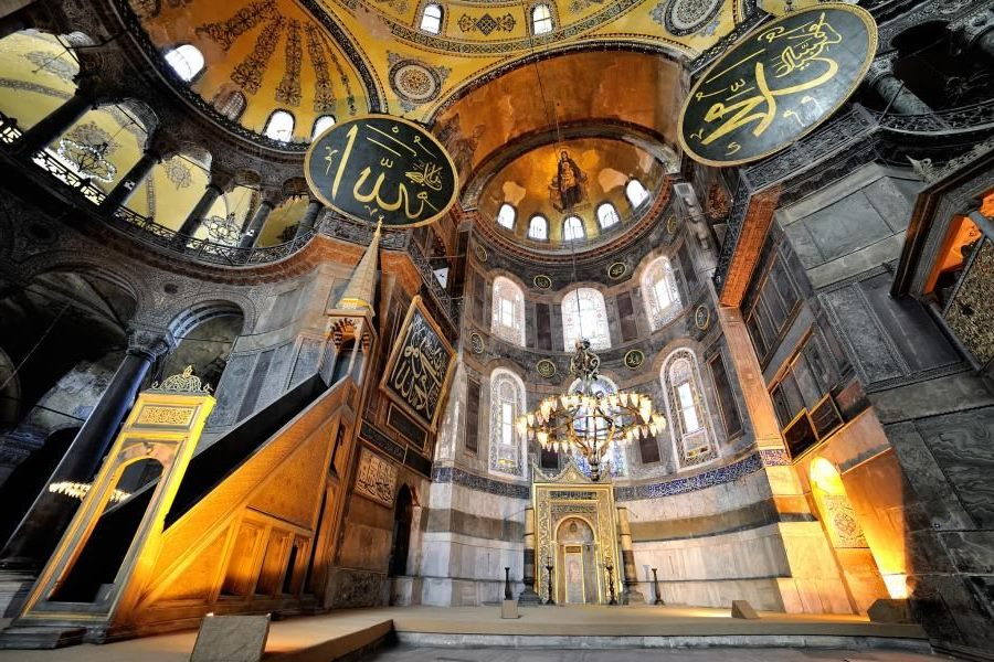 Hagia Sophia Inside in Byzantine and Ottoman Traces Tour by Travel Tips Turkey