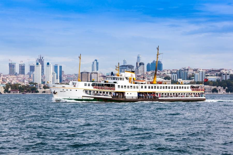 View of New City Istanbul from Bosphorus in Bosphorus & Golden Horn Cruise by Travel Tips Turkey