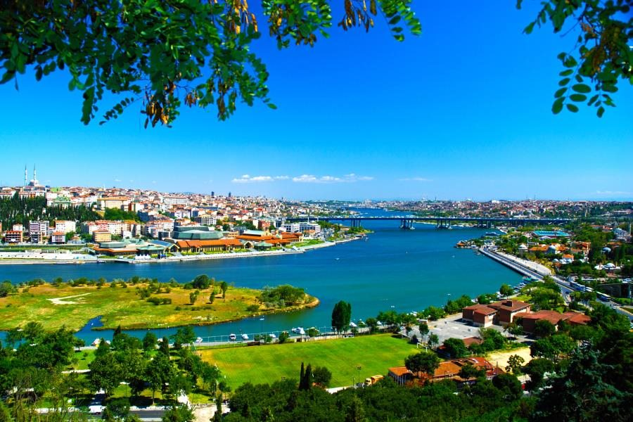 View from Pierre Loti Hill in Bosphorus & Golden Horn Cruise by Travel Tips Turkey