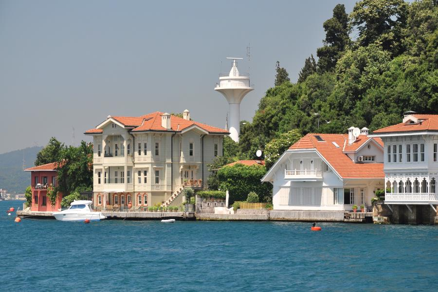 Istanbul Old Houses by Bosphorus